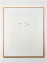 tacitus by cy twombly