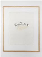 apollodoro by cy twombly