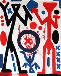 the right point by a.r. penck