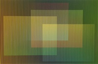 physichromie # 1657 by carlos cruz-diez