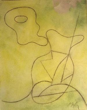 vase. composition pour jean bélias by jean/hans arp