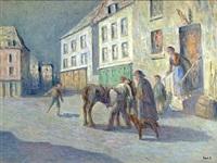 le depart by maximilien luce