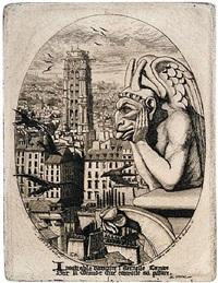 le styrge (the vampire) by charles meryon