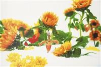 winter garden i by marc quinn