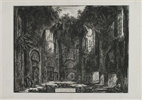 hadrian's villa: a hall in the so-called accademia by giovanni battista piranesi