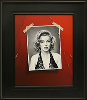 one second later (marilyn monroe) by otto duecker