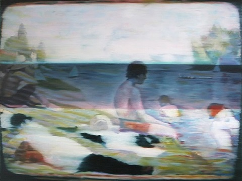 after georges seurat by dan mcdermott