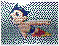 rubik astro boy by invader