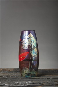 swansong voyage vase by zsolnay