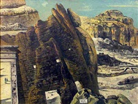 paesaggio tebano by eugene berman