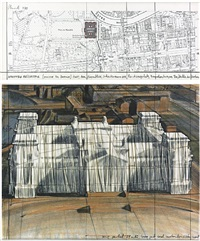 wrapped reichstag (project for berlin) by christo and jeanne-claude