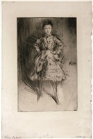 elinor leyland by james abbott mcneill whistler