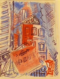 mozart by raoul dufy
