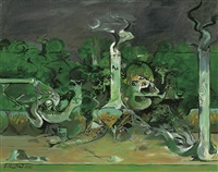forest and river by graham sutherland