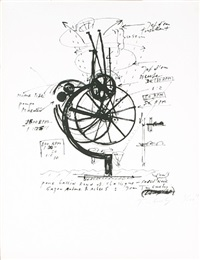 untitled by jean tinguely