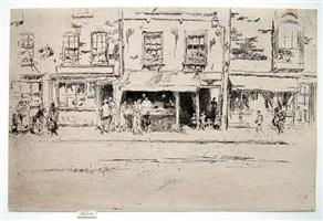 fish shop, chelsea by james abbott mcneill whistler