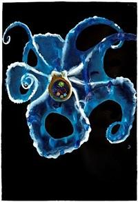 untitled (drape octopus) by alexis rockman