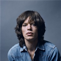 mick jagger paris, january 1971 by jean-marie périer
