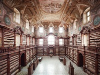 biblioteca del girolamini napoli i by candida höfer