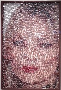 eye to eye: kate moss by david datuna