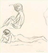 nude studies by henri lebasque