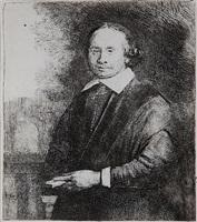 jan antonides van der linden, professor of medicine by rembrandt van rijn