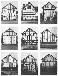 framework houses by bernd and hilla becher