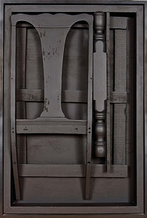 night sentinel panel by louise nevelson