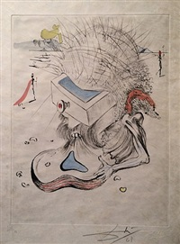 apollinaire suite i by salvador dalí