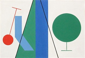 bandes, cercles et lignes by sophie taeuber-arp