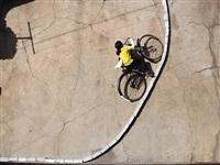 parabolic bike by robin rhode