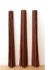 three red sheaves by david nash