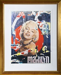 marilyn 3 by mimmo rotella
