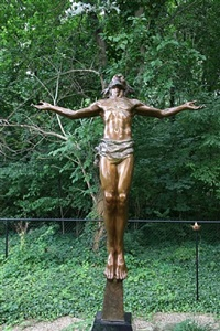 christ rising by frederick hart