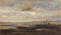 marée basse (villerville) by charles françois daubigny