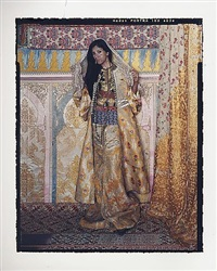 harem revisited #53b by lalla essaydi