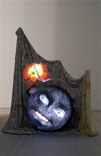 bomb by tony oursler