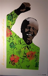 mandela (green) by bambi
