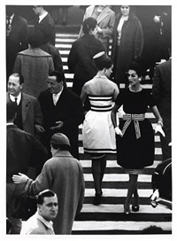 mina + simone, piazza di spagna, rome by william klein