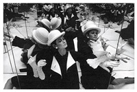 isabella + doves + mirrors, paris by william klein