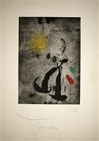 le fugitif by joan miró