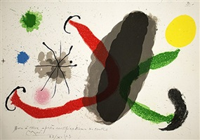 le lezard aux plumes d'or by joan miró