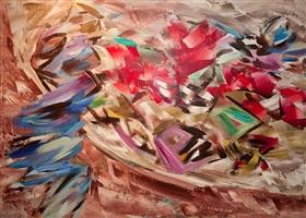 holiday motif by john ward lockwood