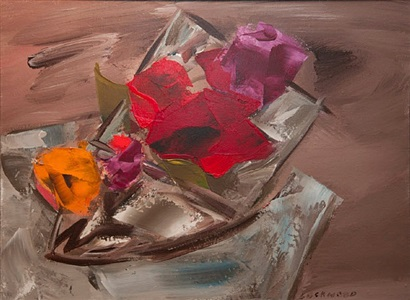 floral still life by john ward lockwood