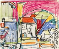 untitled (provincetown) by hans hofmann