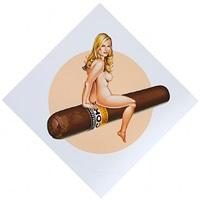 cohiba tobacco girl by mel ramos
