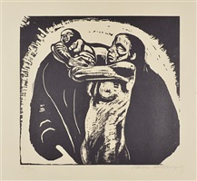 the sacrifice by käthe kollwitz