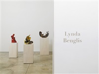 installation view by lynda benglis