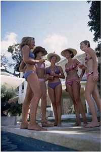 bikini society by slim aarons