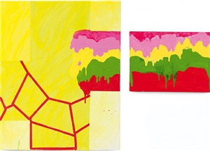 splashy cut by mary heilmann
